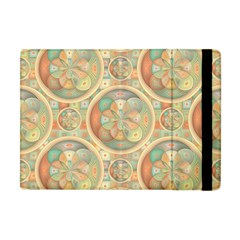 Complex Geometric Pattern Apple Ipad Mini Flip Case by linceazul