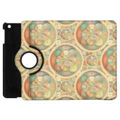 Complex Geometric Pattern Apple Ipad Mini Flip 360 Case by linceazul