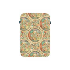 Complex Geometric Pattern Apple Ipad Mini Protective Soft Cases by linceazul