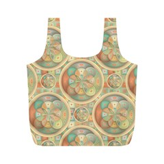 Complex Geometric Pattern Full Print Recycle Bags (m)  by linceazul