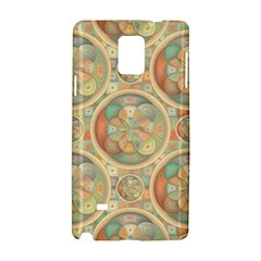 Complex Geometric Pattern Samsung Galaxy Note 4 Hardshell Case by linceazul
