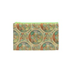 Complex Geometric Pattern Cosmetic Bag (xs) by linceazul