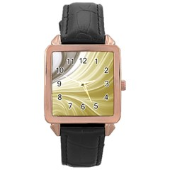 Colors Rose Gold Leather Watch  by ValentinaDesign