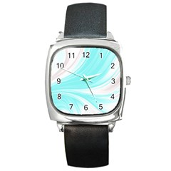 Colors Square Metal Watch by ValentinaDesign