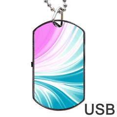 Colors Dog Tag Usb Flash (two Sides) by ValentinaDesign