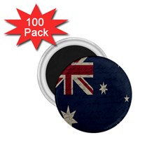 Vintage Australian Flag 1 75  Magnets (100 Pack)  by ValentinaDesign