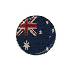 Vintage Australian Flag Hat Clip Ball Marker by ValentinaDesign