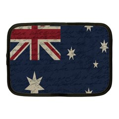 Vintage Australian Flag Netbook Case (medium)  by ValentinaDesign
