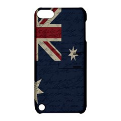 Vintage Australian Flag Apple Ipod Touch 5 Hardshell Case With Stand by ValentinaDesign