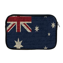 Vintage Australian Flag Apple Macbook Pro 17  Zipper Case by ValentinaDesign
