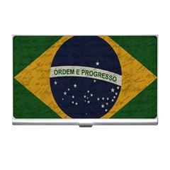 Vintage Flag   Brasil Business Card Holders by ValentinaDesign