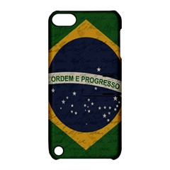 Vintage Flag   Brasil Apple Ipod Touch 5 Hardshell Case With Stand by ValentinaDesign