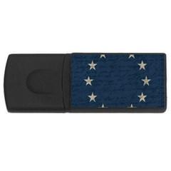 Vintage Flag   Eu Usb Flash Drive Rectangular (4 Gb) by ValentinaDesign