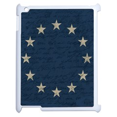 Vintage Flag   Eu Apple Ipad 2 Case (white) by ValentinaDesign