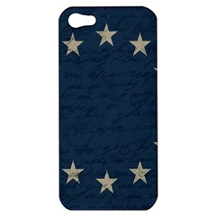 Vintage Flag   Eu Apple Iphone 5 Hardshell Case by ValentinaDesign