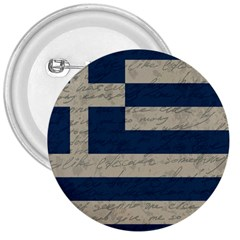 Vintage Flag   Greece 3  Buttons by ValentinaDesign