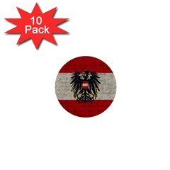 Vintage Flag   Austria 1  Mini Buttons (10 Pack)  by ValentinaDesign