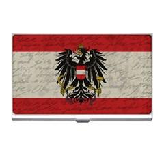 Vintage Flag   Austria Business Card Holders by ValentinaDesign