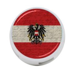 Vintage Flag   Austria 4 Port Usb Hub (one Side) by ValentinaDesign