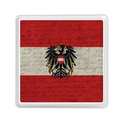 Vintage Flag   Austria Memory Card Reader (square)  by ValentinaDesign
