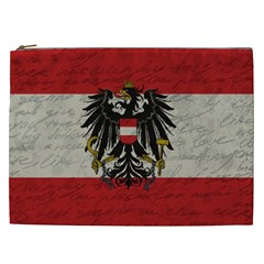 Vintage Flag   Austria Cosmetic Bag (xxl)  by ValentinaDesign