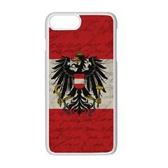 Vintage Flag   Austria Apple Iphone 7 Plus White Seamless Case by ValentinaDesign