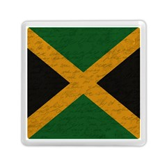 Vintage Flag   Jamaica Memory Card Reader (square)  by ValentinaDesign