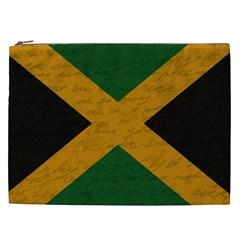 Vintage Flag   Jamaica Cosmetic Bag (xxl)  by ValentinaDesign