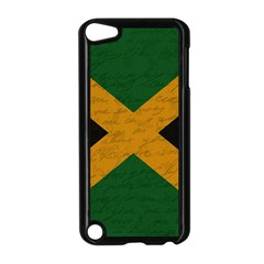 Vintage Flag   Jamaica Apple Ipod Touch 5 Case (black) by ValentinaDesign