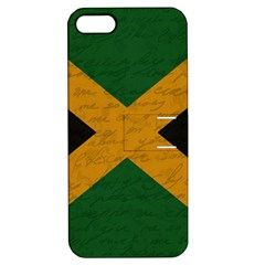 Vintage Flag   Jamaica Apple Iphone 5 Hardshell Case With Stand by ValentinaDesign