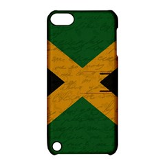 Vintage Flag   Jamaica Apple Ipod Touch 5 Hardshell Case With Stand by ValentinaDesign