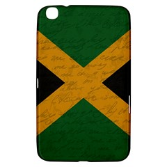Vintage Flag   Jamaica Samsung Galaxy Tab 3 (8 ) T3100 Hardshell Case  by ValentinaDesign