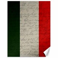 Vintage Flag   Italia Canvas 18  X 24