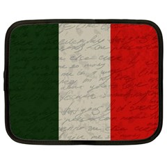Vintage Flag   Italia Netbook Case (xl)  by ValentinaDesign
