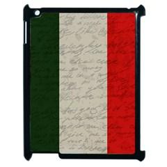 Vintage Flag   Italia Apple Ipad 2 Case (black) by ValentinaDesign