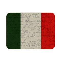 Vintage Flag   Italia Double Sided Flano Blanket (mini)  by ValentinaDesign