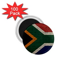 Vintage Flag   South Africa 1 75  Magnets (100 Pack)  by ValentinaDesign
