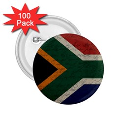 Vintage Flag   South Africa 2 25  Buttons (100 Pack)  by ValentinaDesign
