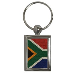 Vintage Flag   South Africa Key Chains (rectangle)  by ValentinaDesign