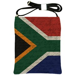Vintage Flag   South Africa Shoulder Sling Bags by ValentinaDesign
