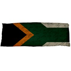Vintage Flag   South Africa Body Pillow Case Dakimakura (two Sides) by ValentinaDesign