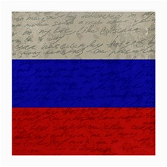 Vintage Flag   Russia Medium Glasses Cloth by ValentinaDesign