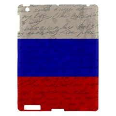 Vintage Flag   Russia Apple Ipad 3/4 Hardshell Case by ValentinaDesign