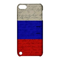 Vintage Flag   Russia Apple Ipod Touch 5 Hardshell Case With Stand by ValentinaDesign