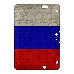 Vintage Flag   Russia Kindle Fire Hdx 8 9  Hardshell Case by ValentinaDesign
