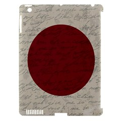 Vintage Flag   Japan Apple Ipad 3/4 Hardshell Case (compatible With Smart Cover) by ValentinaDesign