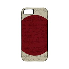 Vintage Flag   Japan Apple Iphone 5 Classic Hardshell Case (pc+silicone) by ValentinaDesign
