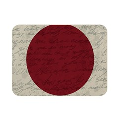 Vintage Flag   Japan Double Sided Flano Blanket (mini)  by ValentinaDesign
