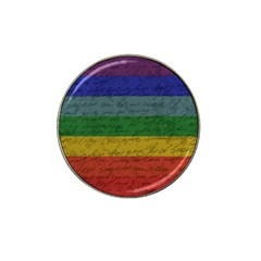 Vintage Flag   Pride Hat Clip Ball Marker (4 Pack) by ValentinaDesign
