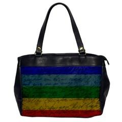 Vintage Flag   Pride Office Handbags by ValentinaDesign